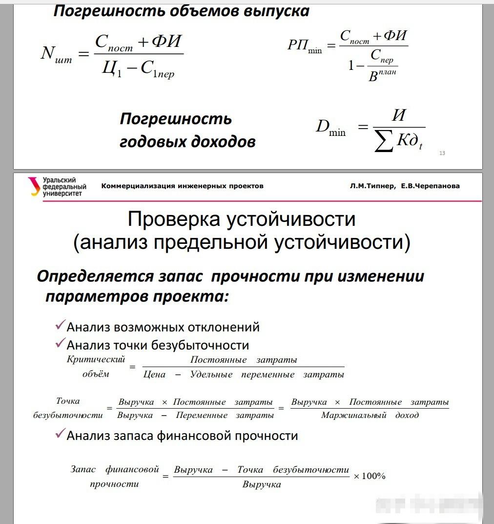 课件(这节课讲计算收支平衡点、市场弹性预估)