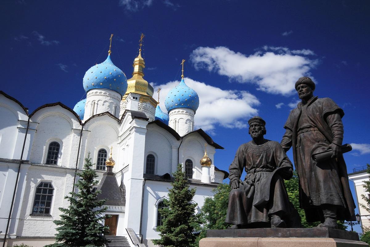 喀山的著名大教堂