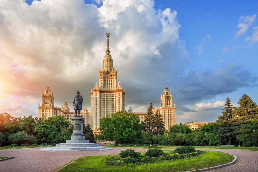 俄罗斯著名大学 - 莫斯科国立大学主楼