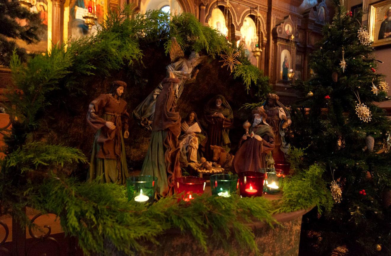 俄罗斯圣诞节装饰