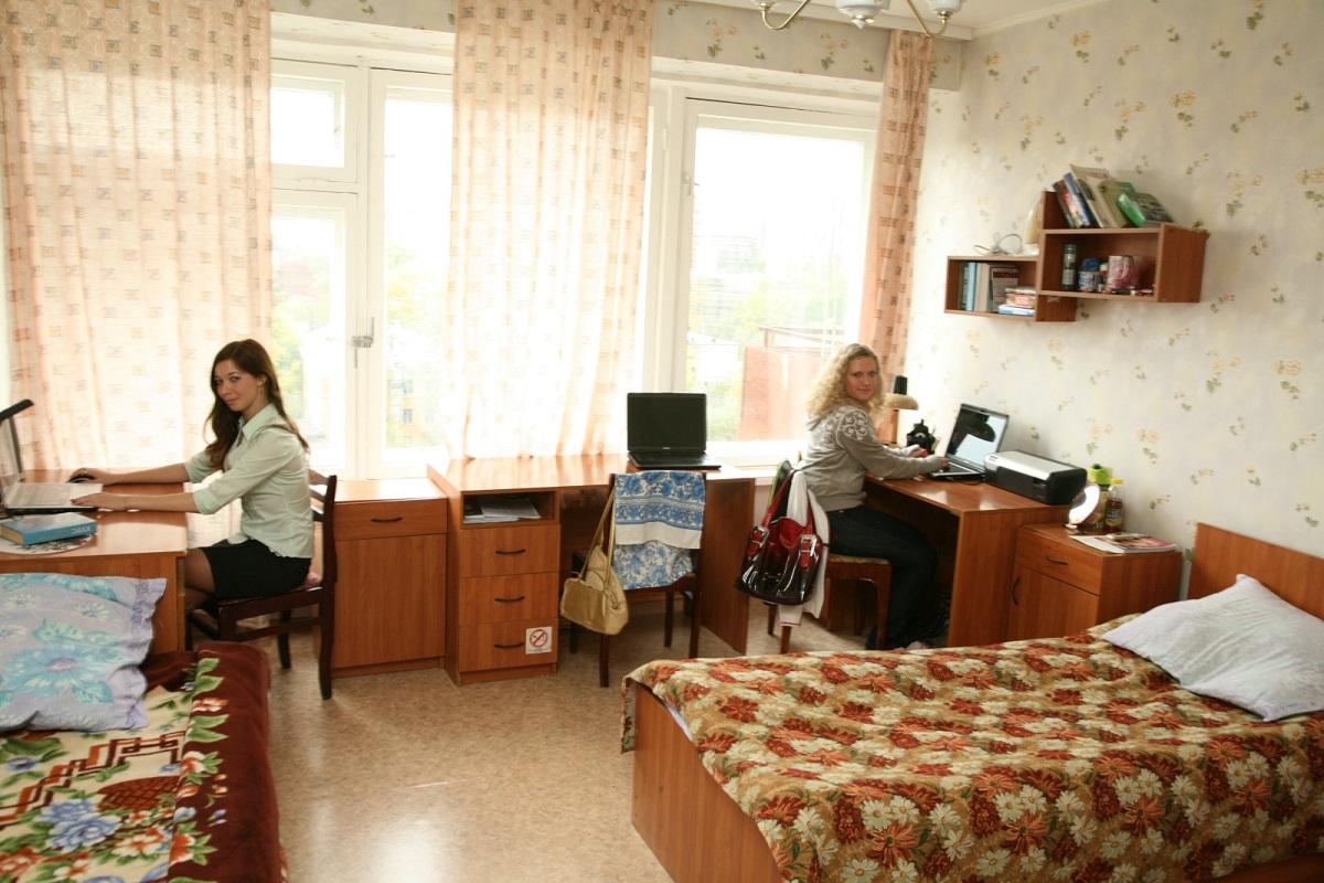 俄罗斯总统国民经济和管理学院乌拉尔分院的宿舍条件