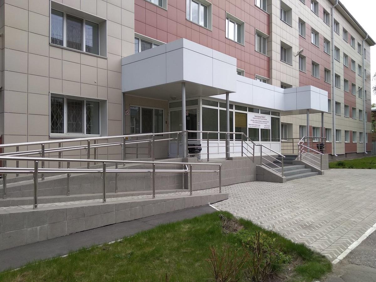 俄罗斯总统国民经济和管理学院新西伯利亚分院的教学楼