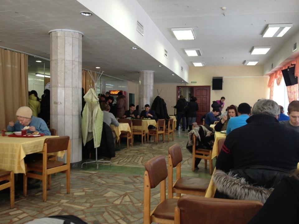 俄罗斯总统国民经济和管理学院位于叶卡捷琳堡的分校的食堂