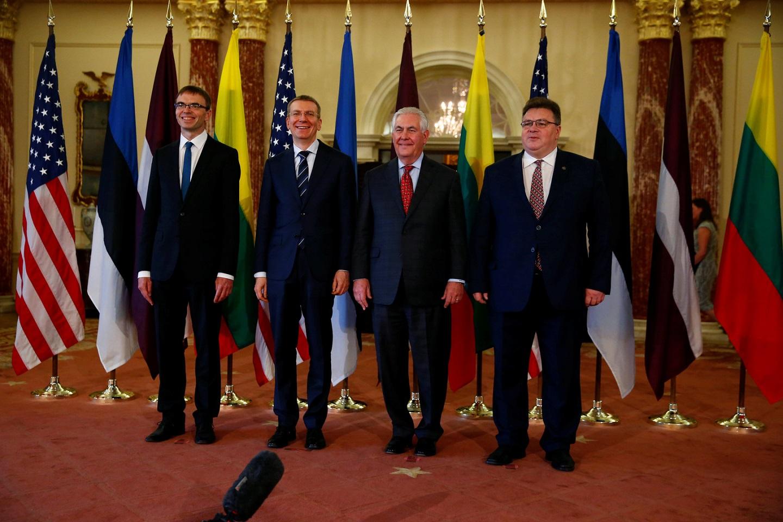 俄罗斯、美国和巴西的政治家进行会议