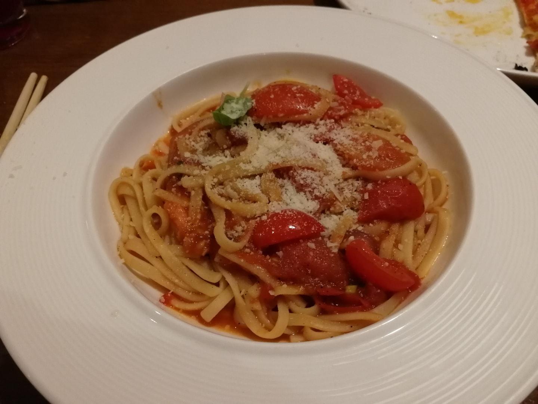 意大利西餐 – 西红柿意大利面
