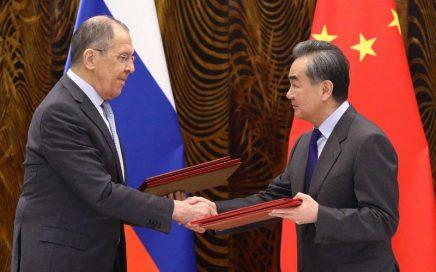 俄罗斯外长拉夫罗夫友好访问中国,两国签署联合声明缩略图