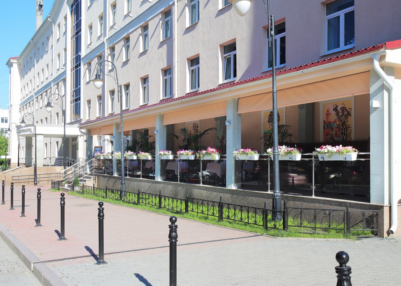格林帕克酒店入口