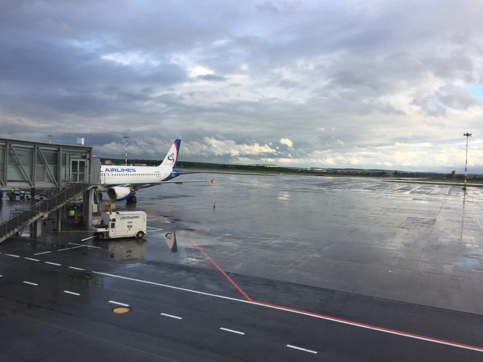 机场等待工程师落地