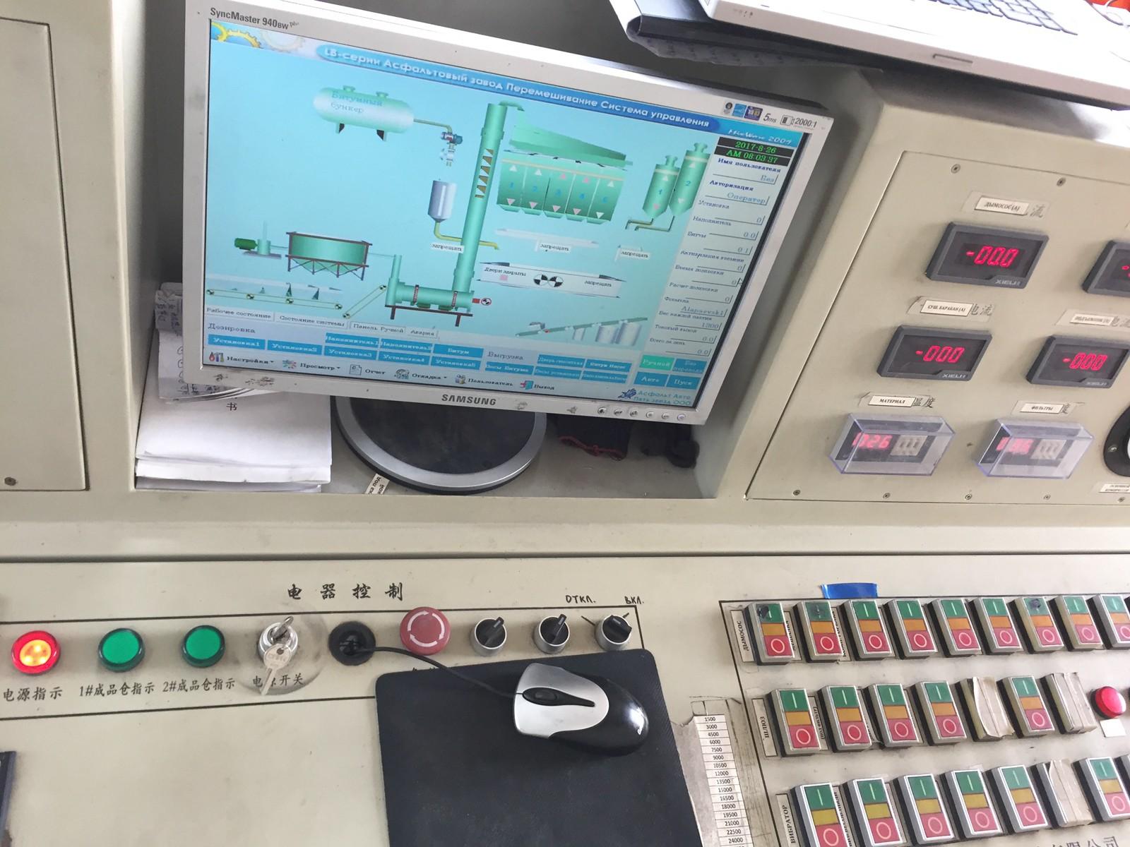 操作台上面很多复杂的按钮