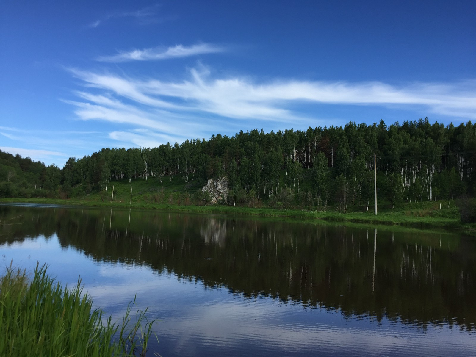 这是涅瓦河的河湾(当然不是圣彼得堡那条涅瓦河)