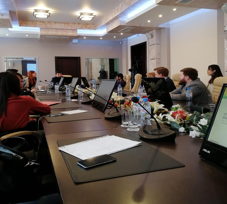 2019年乌拉尔联邦大学高层会议现场