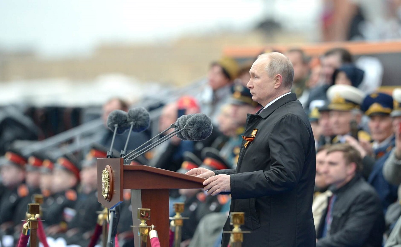 普京在胜利日演讲