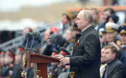 5月9日红场举行胜利日阅兵,总统普京发表胜利日讲话缩略图