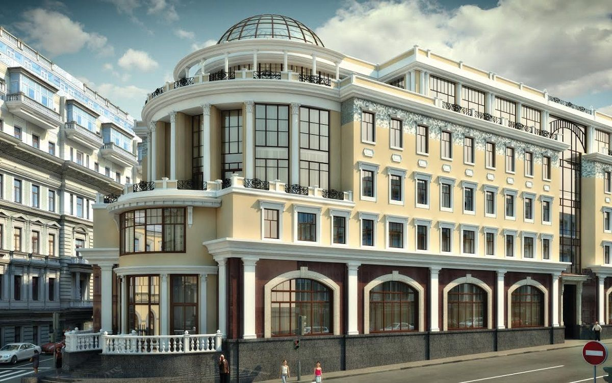 高等经济大学位于莫斯科Pokrovka的教学楼