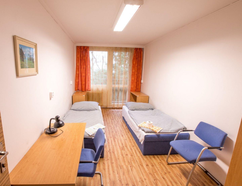 高等经济大学宿舍楼内部房间样式