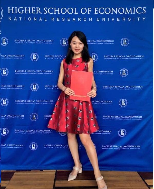 许嘉瑜 (2019届世界经济与国际关系学院 国际关系专业 优秀毕业生)