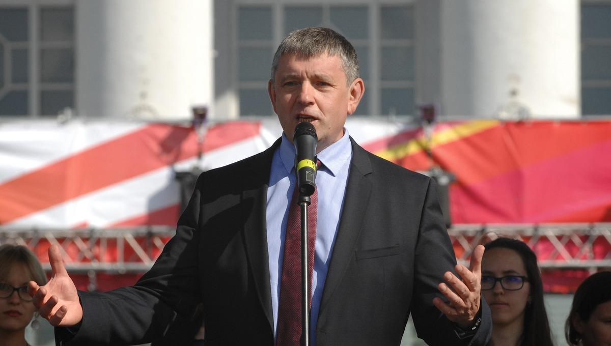 乌拉尔联邦大学校长维克托·卡克沙罗夫