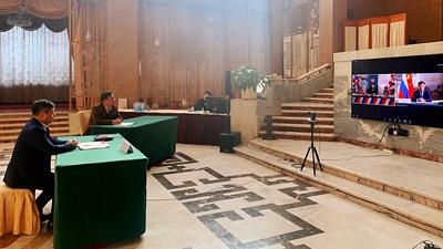 驻俄罗斯大使张汉晖参加第二届中国大使奖线上颁奖仪式 – 俄罗斯新闻缩略图