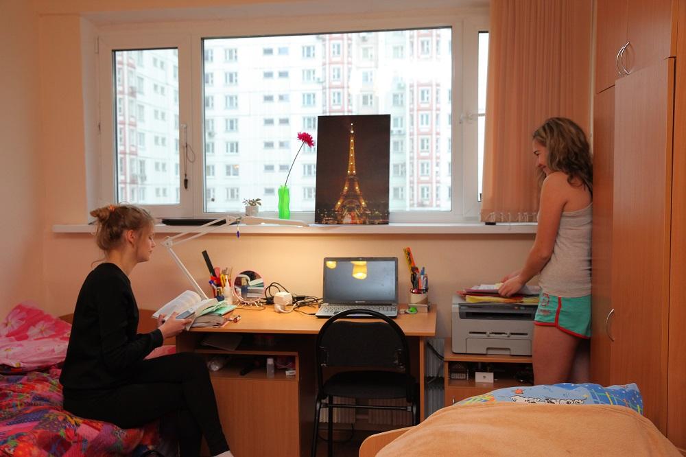 莫斯科国立师范大学住宿学生