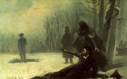 决斗中殒命的俄国天才诗人 – 普希金缩略图