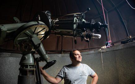 托木斯克国立大学观测站第二次启用,学生通过它观测到了土星的卫星缩略图