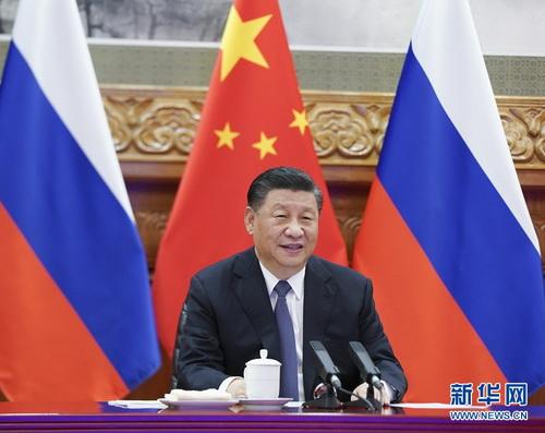 习近平同俄罗斯总统普京举行视频会晤 两国元首宣布《中俄睦邻友好合作条约》延期 – 俄罗斯新闻插图1-小狮座俄罗斯留学