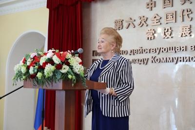 驻俄罗斯使馆举办中国共产党成立100周年图片展 – 俄罗斯新闻插图2-小狮座俄罗斯留学