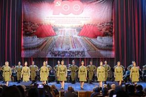 驻俄罗斯大使张汉晖出席庆祝中国共产党成立100周年暨《中俄睦邻友好合作条约》签署20周年专场音乐会 – 俄罗斯新闻插图3-小狮座俄罗斯留学