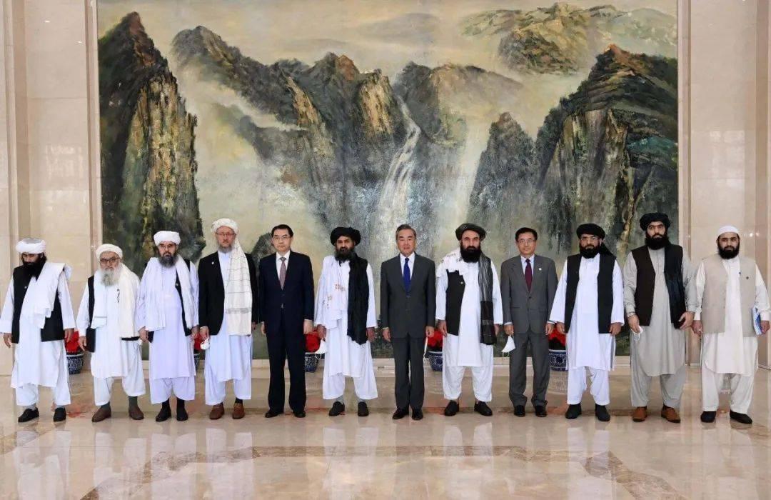 阿富汗塔利班访问俄罗斯莫斯科和中国北京并与两国官员会晤