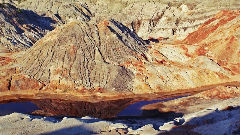 """乌拉尔地区的""""火星沙漠""""让人仿佛置身于火星!插图1-小狮座俄罗斯留学"""