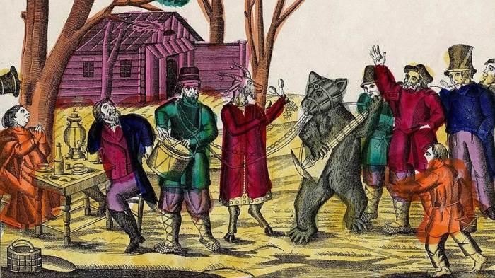 俄罗斯人对熊的喜爱从而来,为什么沙皇要禁止大家喜欢熊?插图4-小狮座俄罗斯留学