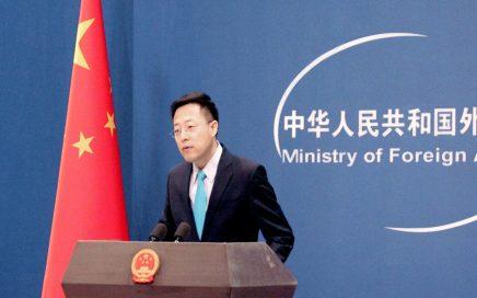 """外交部发言人赵立坚严正驳斥美国""""疫情阴谋论""""缩略图"""
