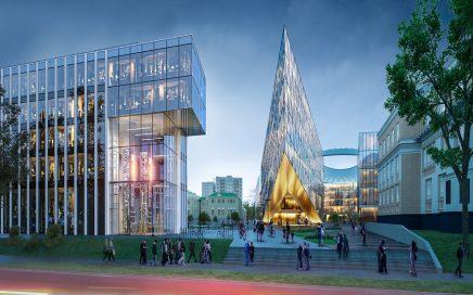 乌拉尔联邦大学新校区的建设将于2021年启动缩略图