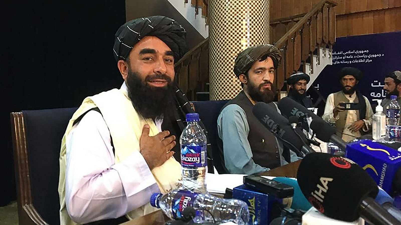 阿富汗塔利班举行首次记者会,外交部对此发表评论!插图2-小狮座俄罗斯留学