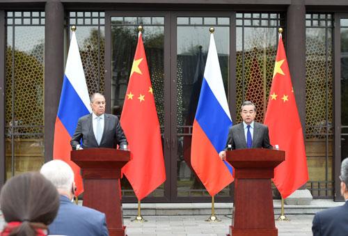 王毅谈中俄四点战略共识和四大努力方向 – 俄罗斯新闻插图-小狮座俄罗斯留学