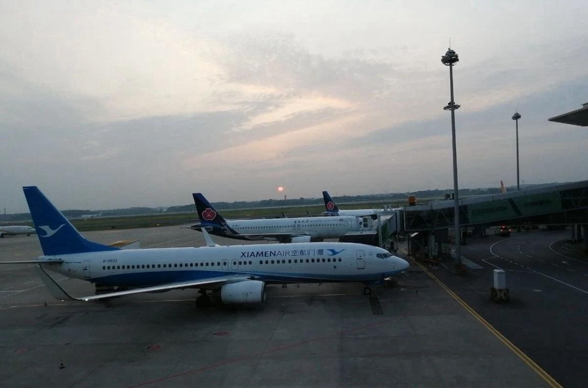 西伯利亚航空S7航班准备飞往新西伯利亚