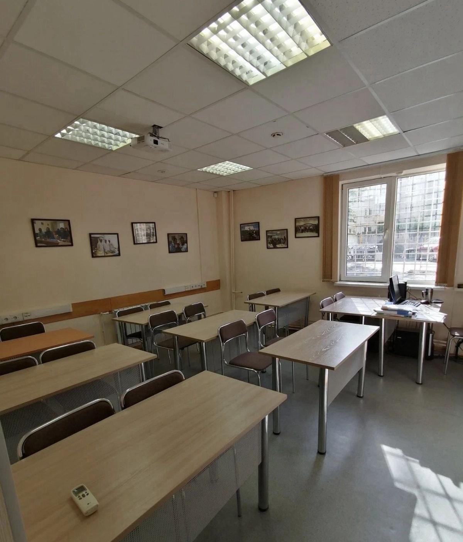 乌拉尔国立经济大学预科教室,我的许多学生就在这儿上课