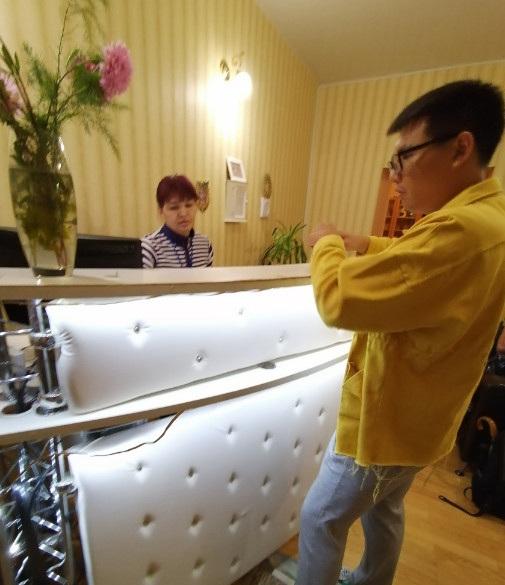 这是我们在проспект отель订房时的照片,这里就是大家即将入住的地方