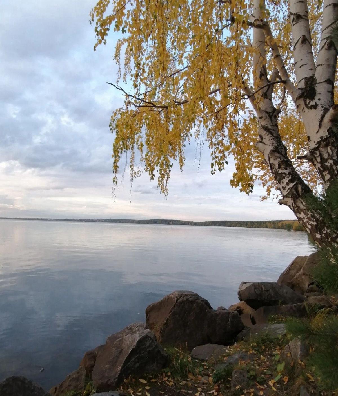金秋十月的shartash湖 叶卡捷琳堡