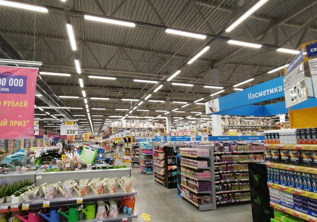 这家超市开在叶卡捷琳堡城市边缘,所以价格比较便宜