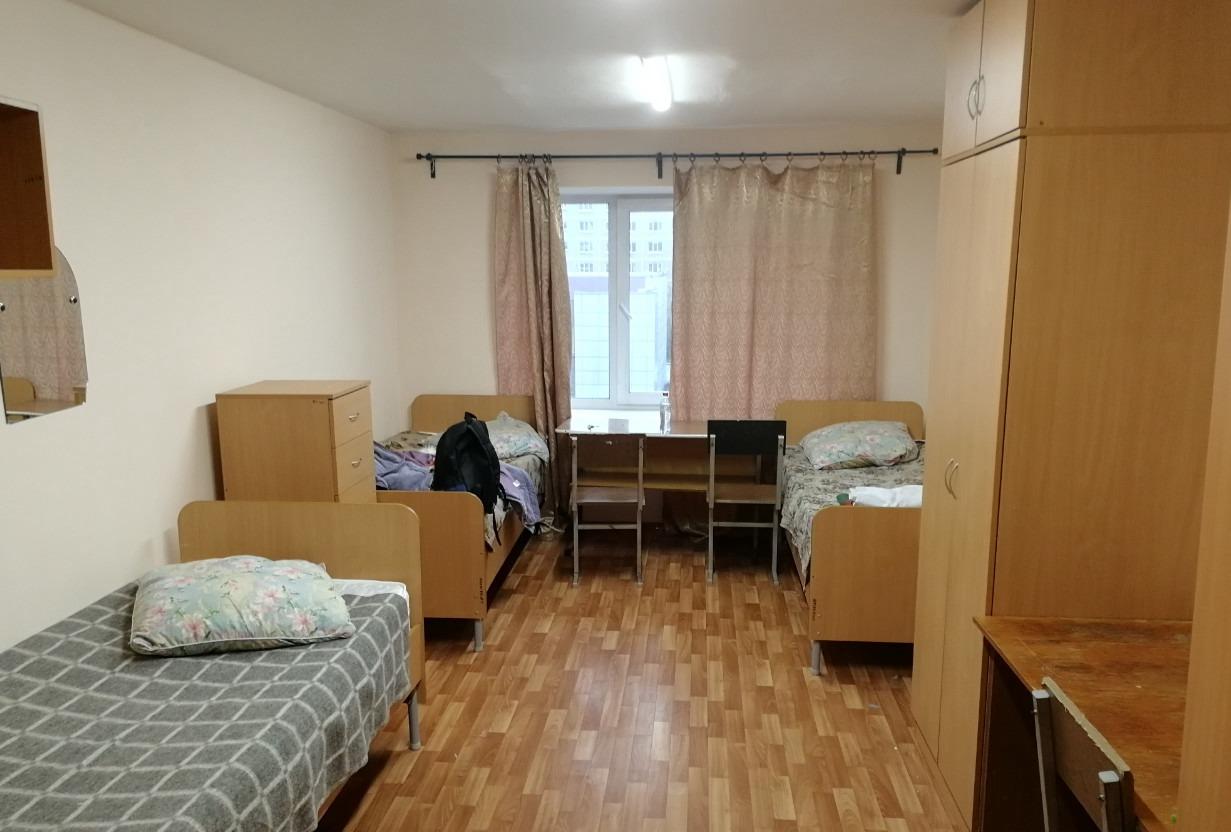 乌拉尔国立经济大学的寝室房间条件,还是很不错的