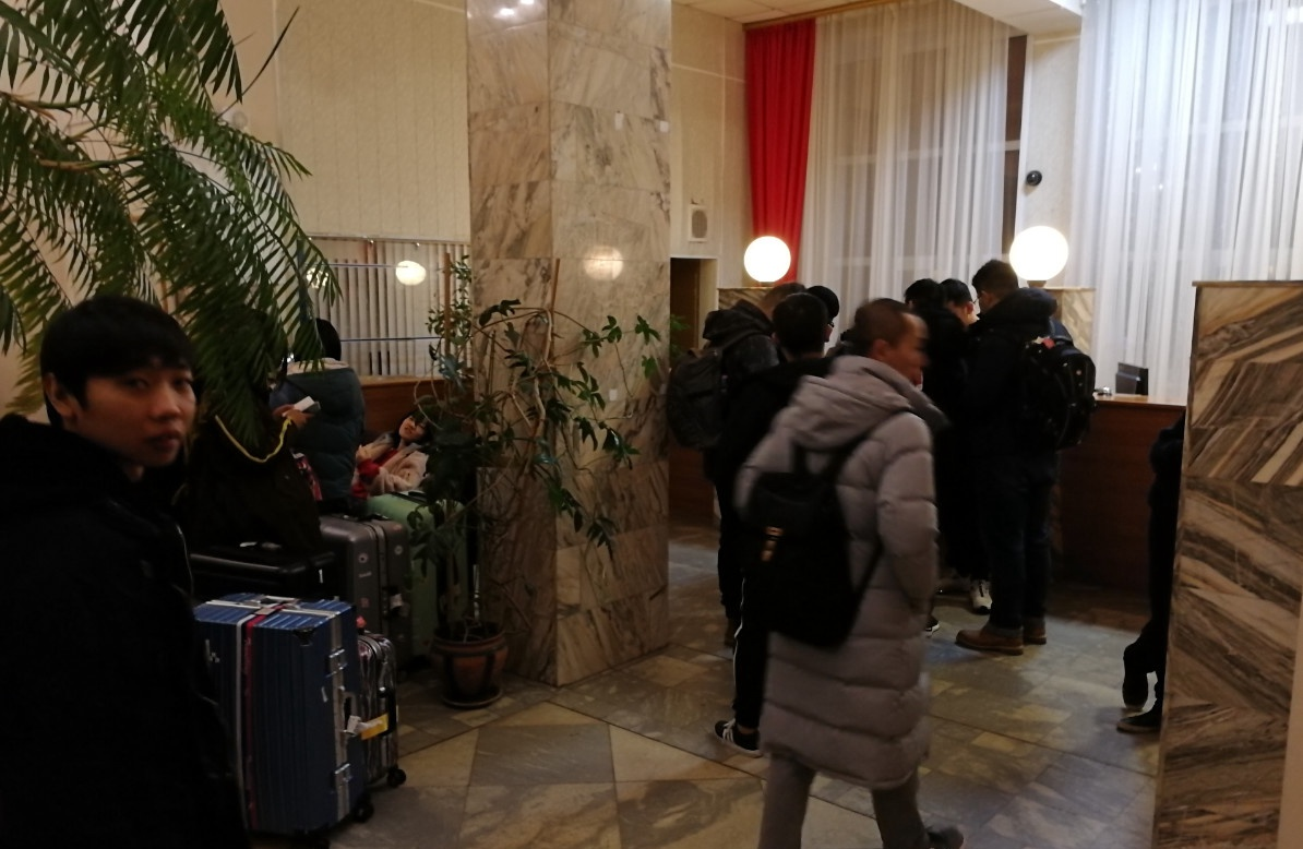 在乌拉尔联邦大学宿舍进行登记|俄罗斯留学
