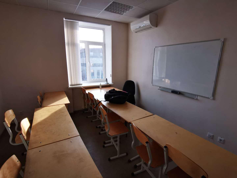 乌拉尔联邦大学预科预科小课的教室|俄罗斯留学预科|俄罗斯大学预科学习