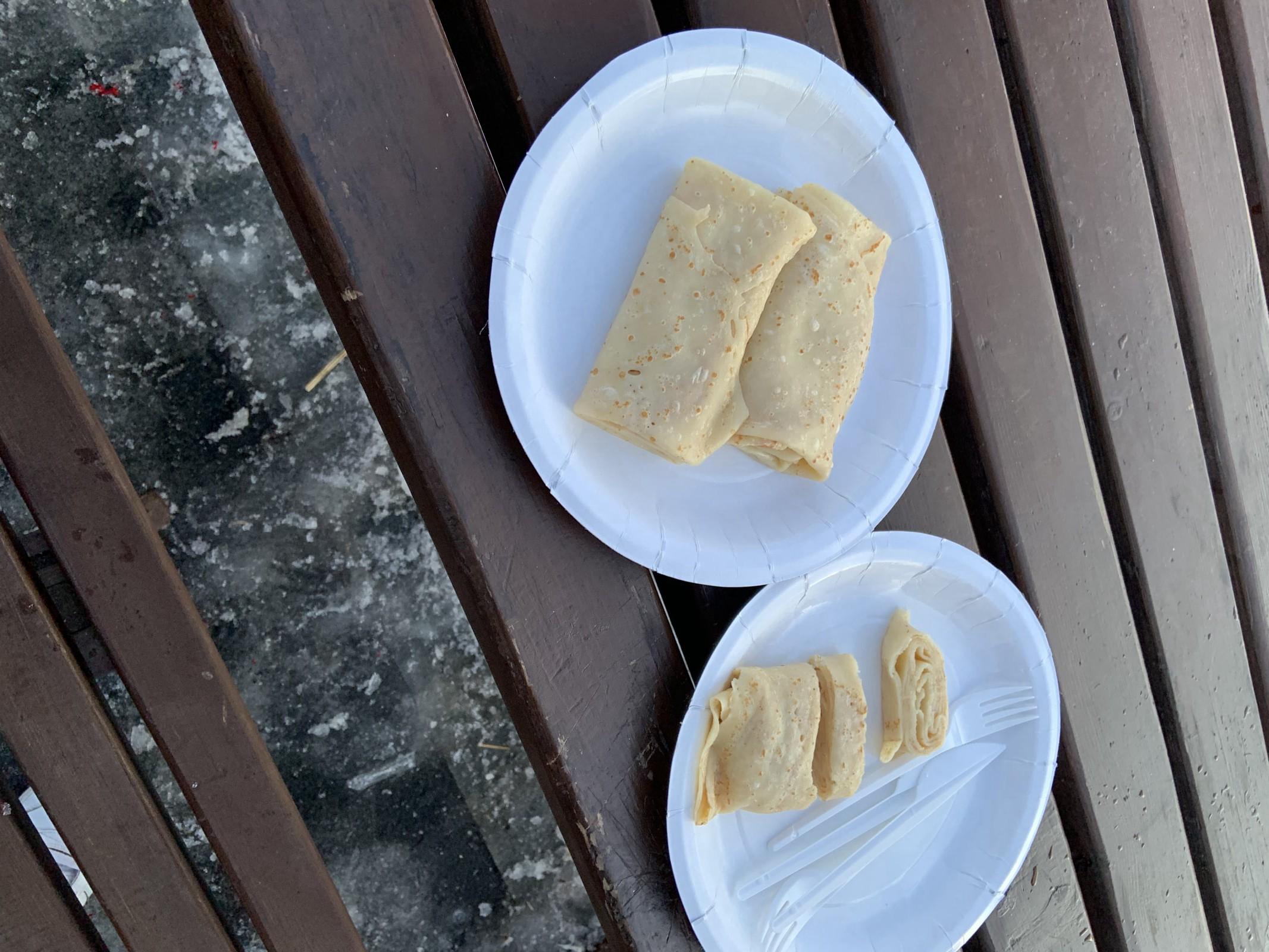 这是谢肉节(масленица)需要吃煎饼和烧稻草人|乌拉尔联邦大学预科学习照片|俄罗斯留学预科|俄罗斯大学预科学习