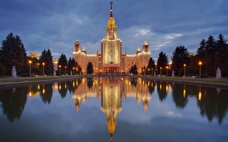 莫斯科大学主楼|俄罗斯留学|莫斯科大学