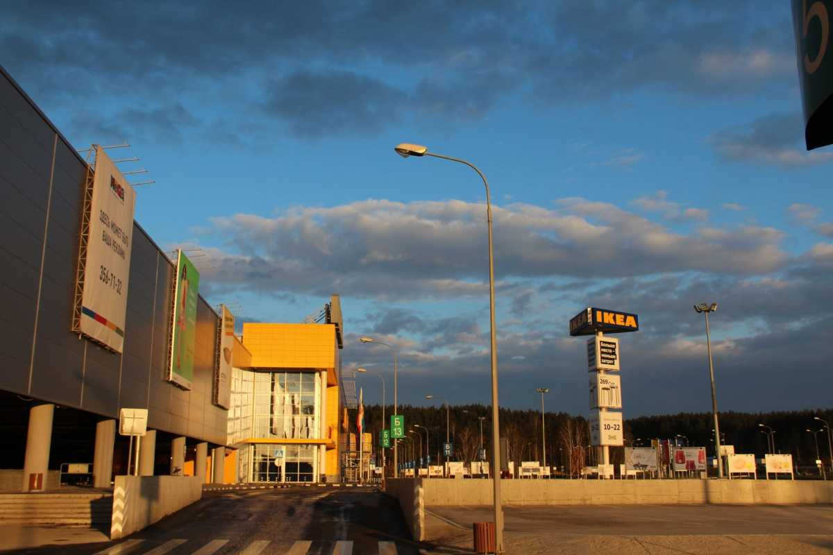 叶卡捷琳堡的MEGA超市,在这里有叶卡的宜家、欧尚和OBI