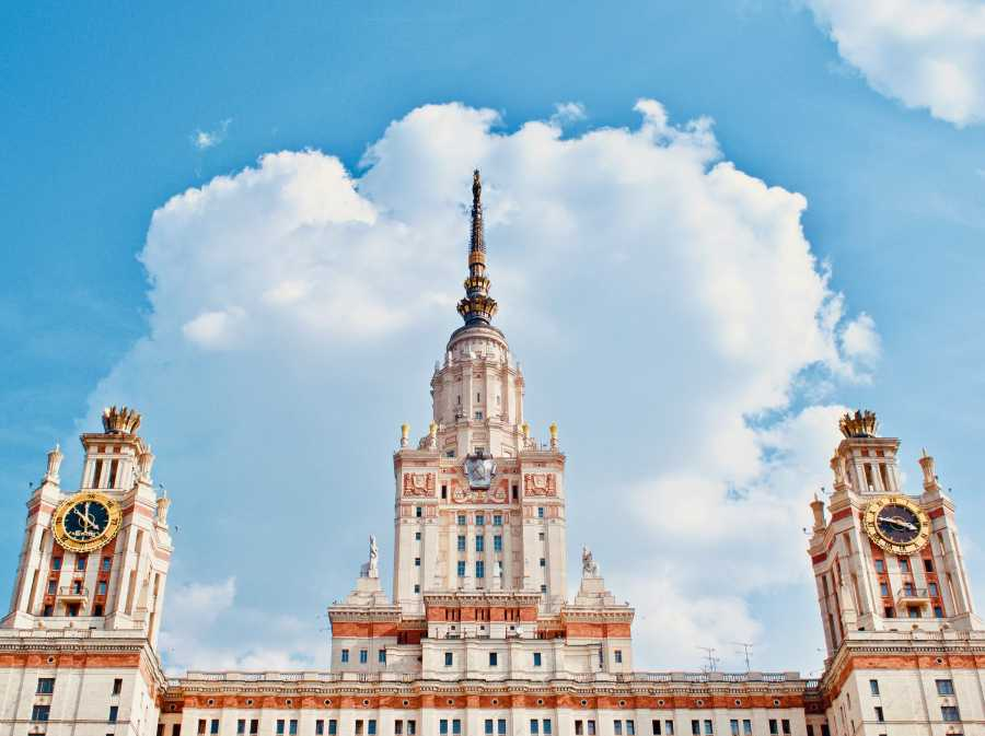 mgu – 莫斯科国立大学的主楼