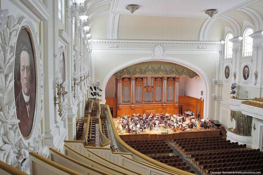柴可夫斯基音乐学院的主演奏大厅