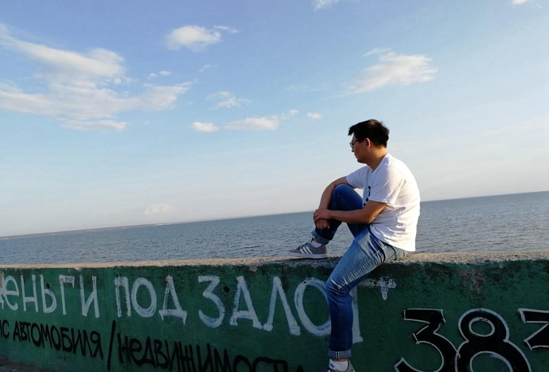 新西伯利亚市的水坝 鄂毕河 俄罗斯留学生活 俄罗斯留学 俄罗斯生活