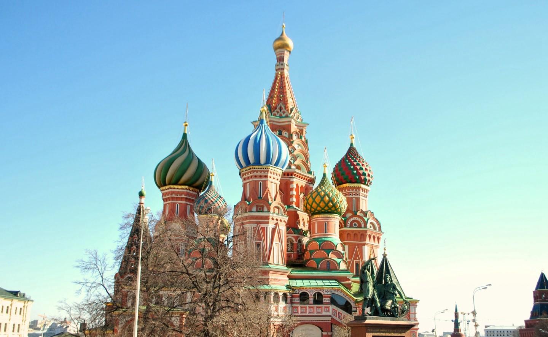 莫斯科红场圣母升天大教堂 俄罗斯城市 俄罗斯生活 莫斯科 俄罗斯留学